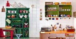 22 Ideias Incríveis de Decoração com Reciclagem para Cozinha