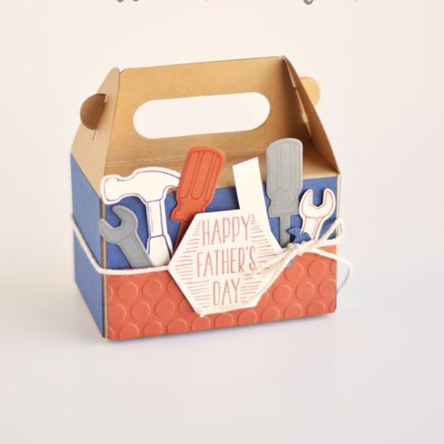 Caixa personalizada para o dia dos pais