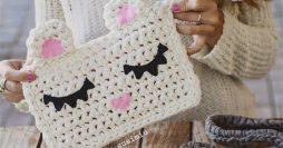 Bolsa de Crochê Infantil: Passo a Passo Fácil com Fio de Malha