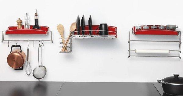 Suportes de parede para cozinha