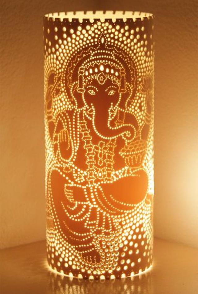 Luminária de PVC Ganesha