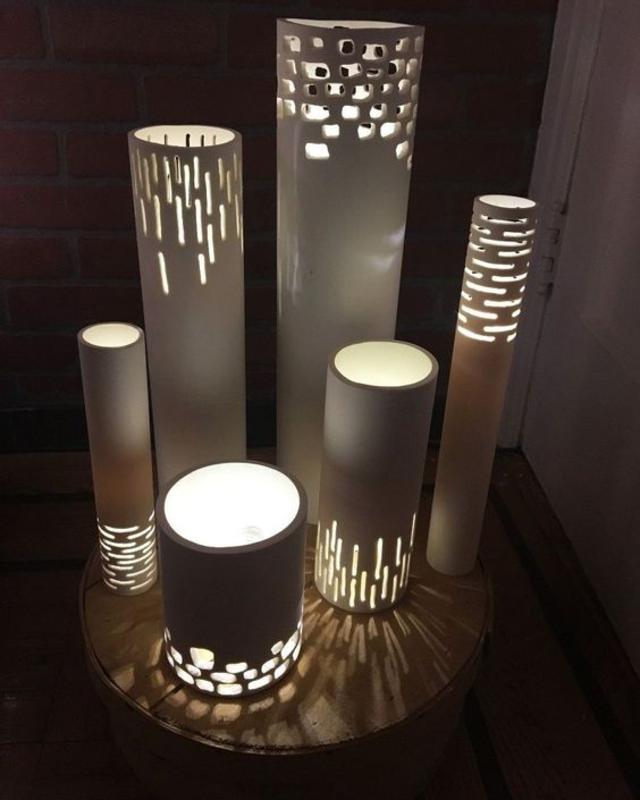Luminárias de PVC