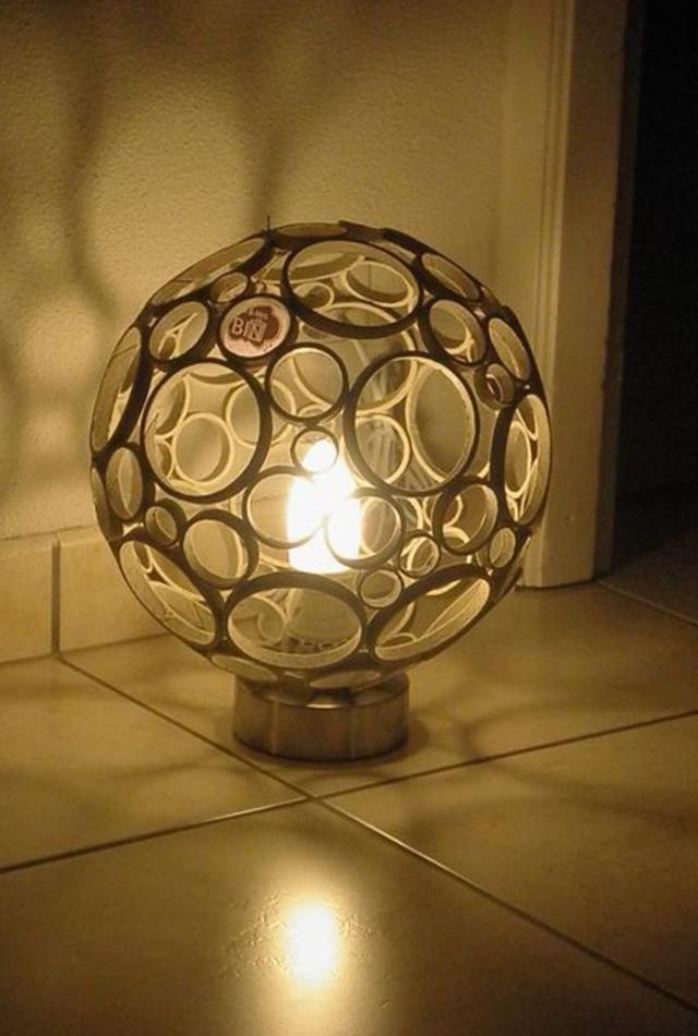 Luminária de PVC