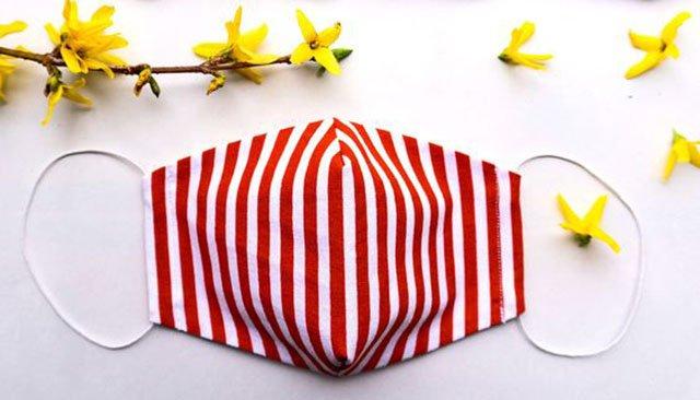 Máscara de proteção de tecido