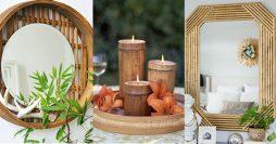 46 Ideias de Decoração com Bambu pra Fazer em Casa