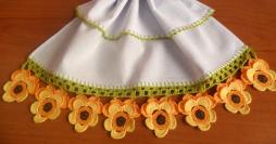 Bico de Crochê em Pano de Prato: 64 Gráficos Lindos para Baixar