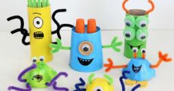 23 Modelos de Jogos Recicláveis para Fazer com as Crianças