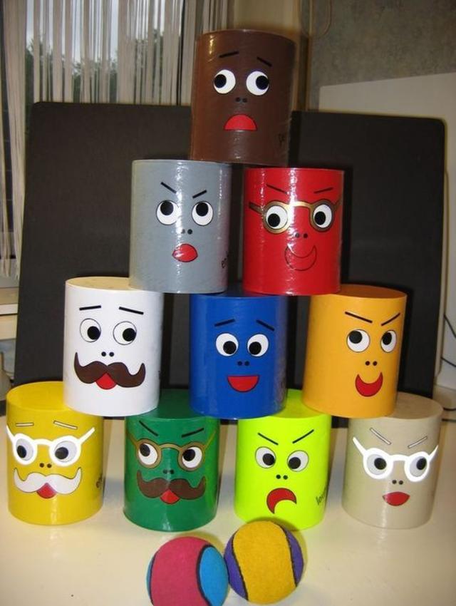 Jogos recicláveis com latas