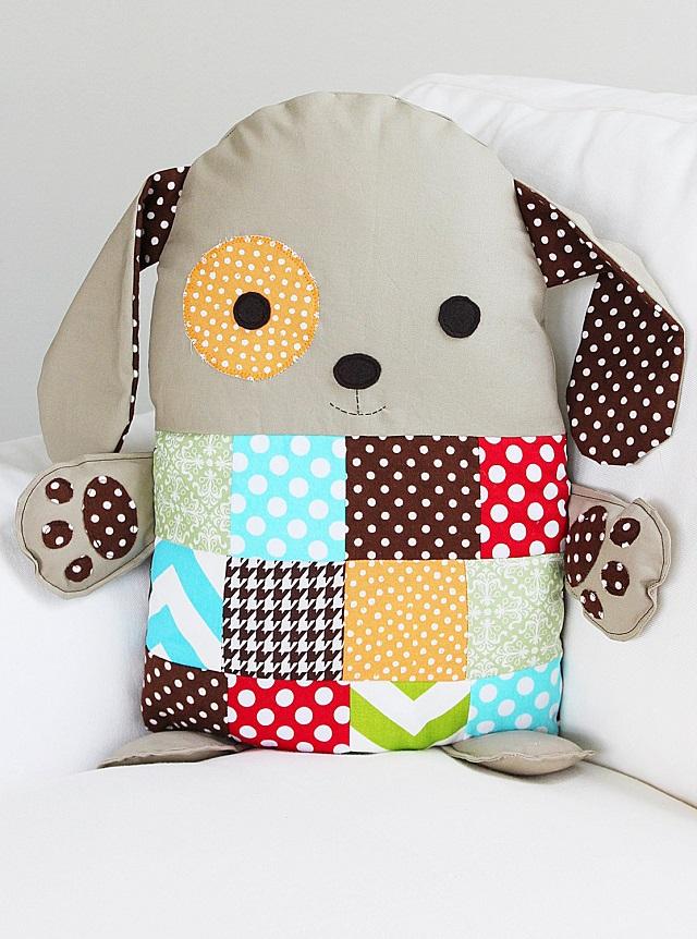 Cachorrinho patchwork