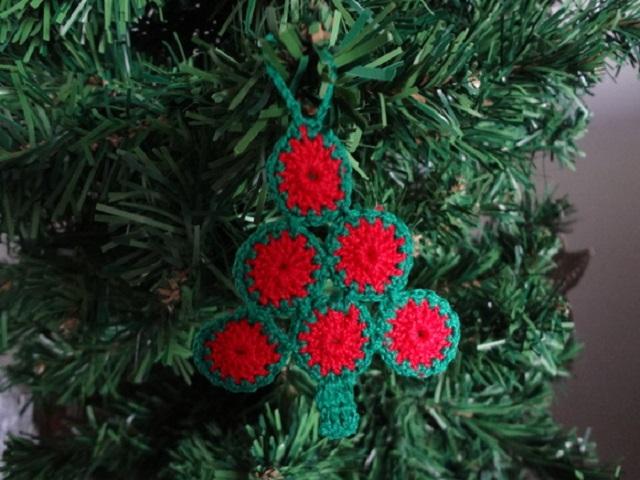 Árvore de Natal de crochê