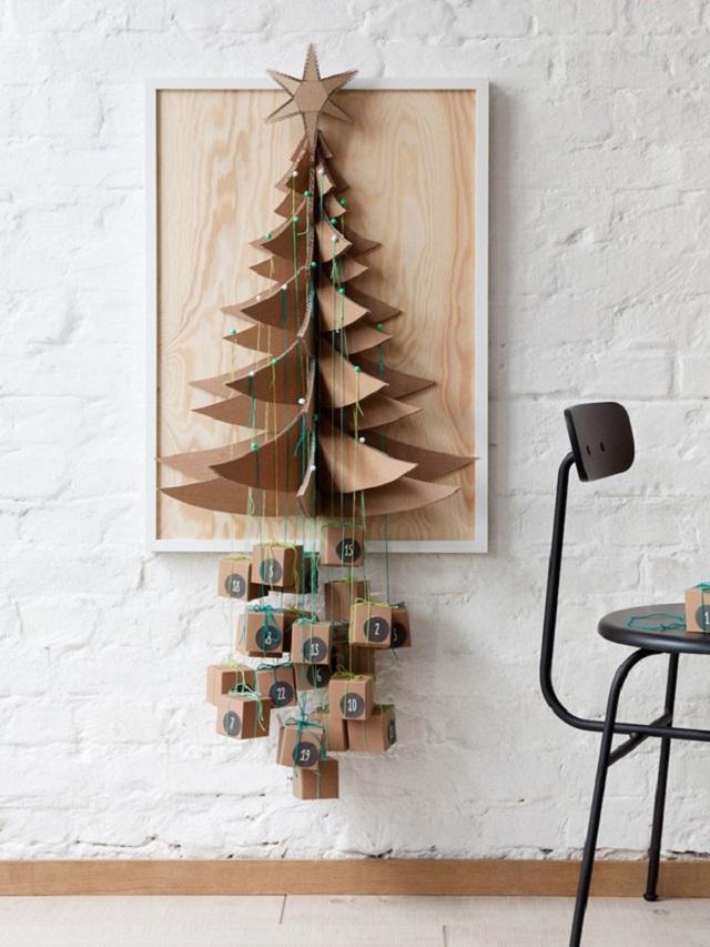 Árvore de Natal de parede quadro