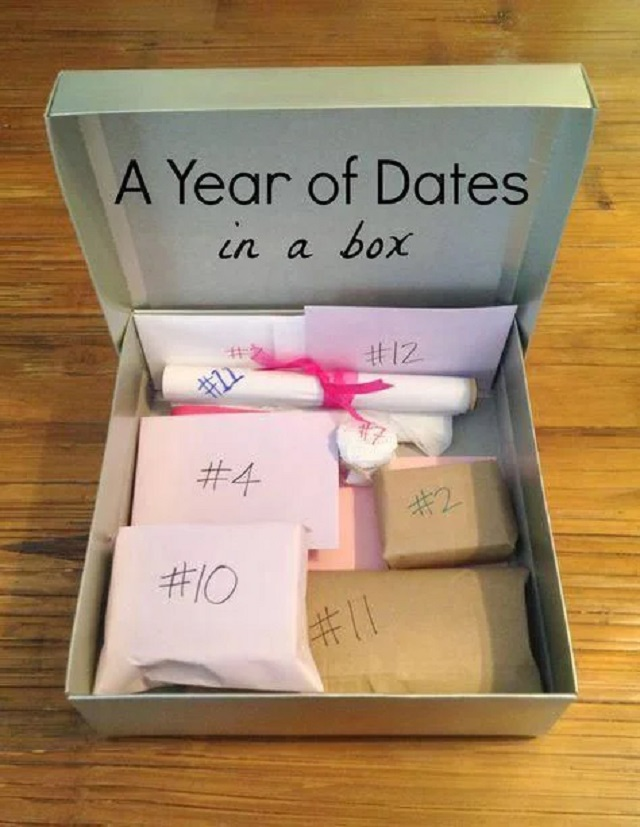 Caixa surpresa para o dia dos namoradas