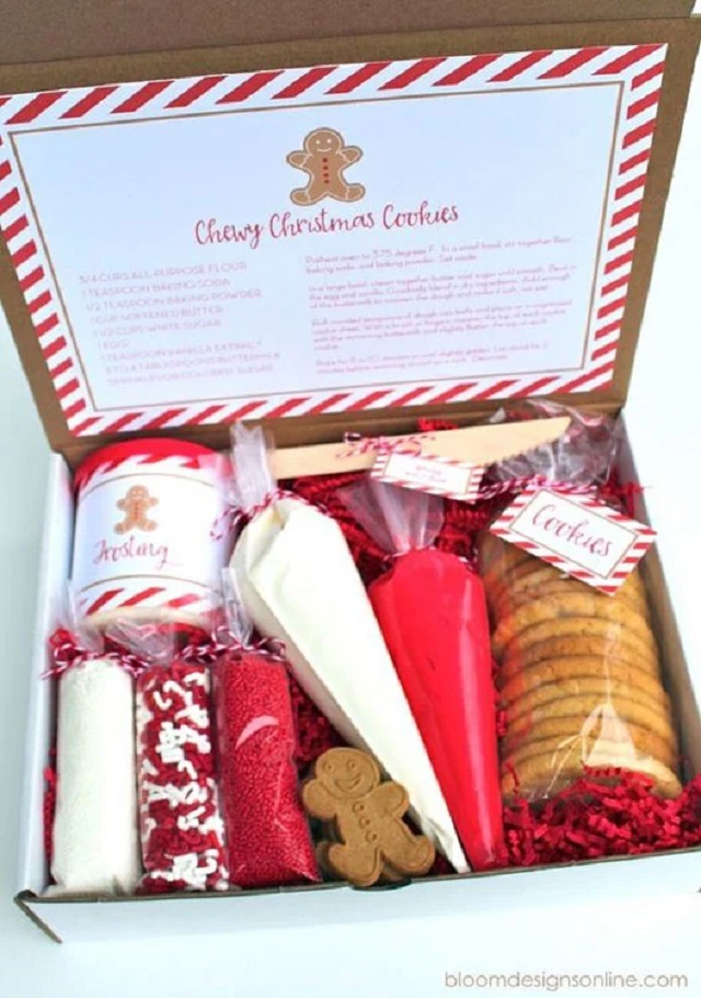 Caixa surpresa para o Natal