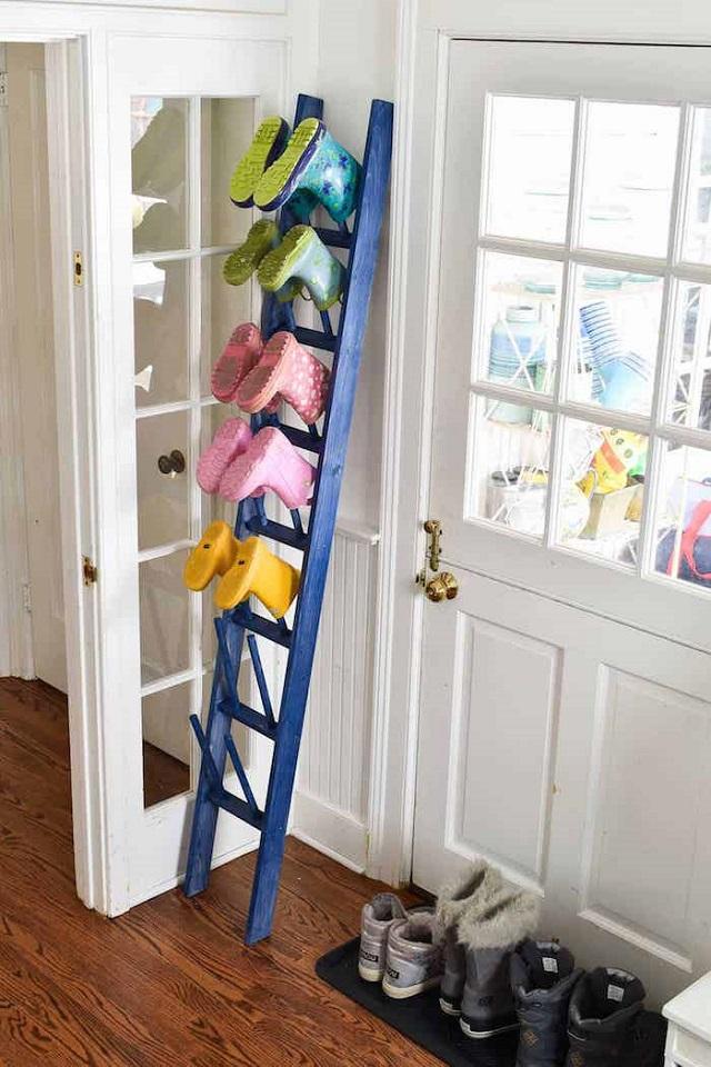 Sapateira  de escada