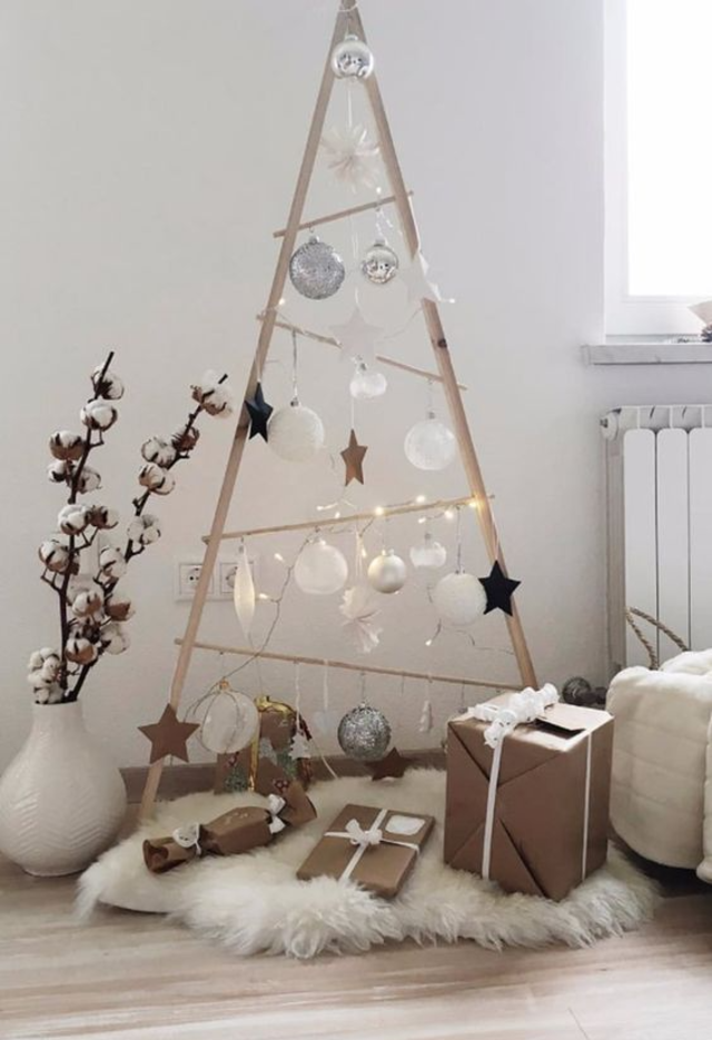 árvore de natal artesanal