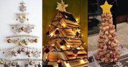 23 Modelos de Árvore de Natal Artesanal para Fazer em Casa