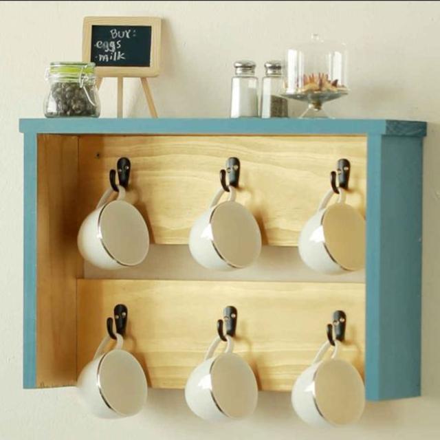 Artesanato para cozinha porta xícaras
