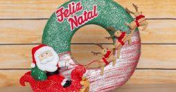 Guirlanda de Natal Artesanal: 72 Modelos Maravilhosos