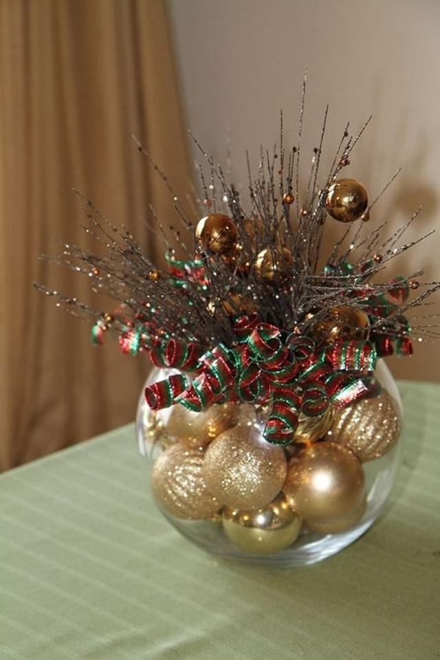 Enfeite de mesa de Natal