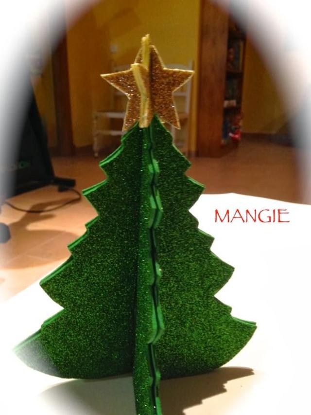 Árvore de Natal de eva