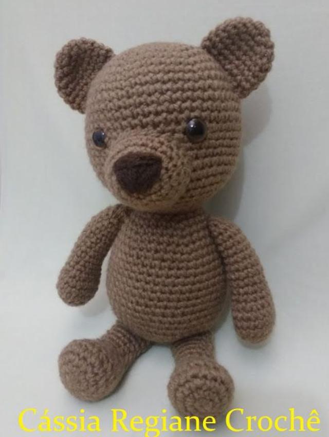 Ursinho de crochê