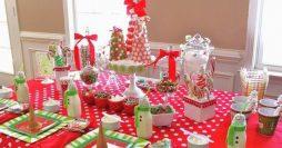 Mesa de Natal Infantil: 37 Ideias para Encantar as Crianças
