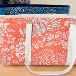 como fazer bolsa de tecido capa