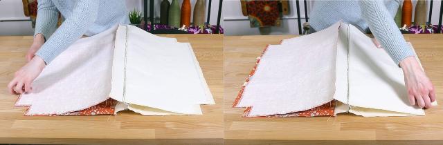 bolsa de tecido passo a passo