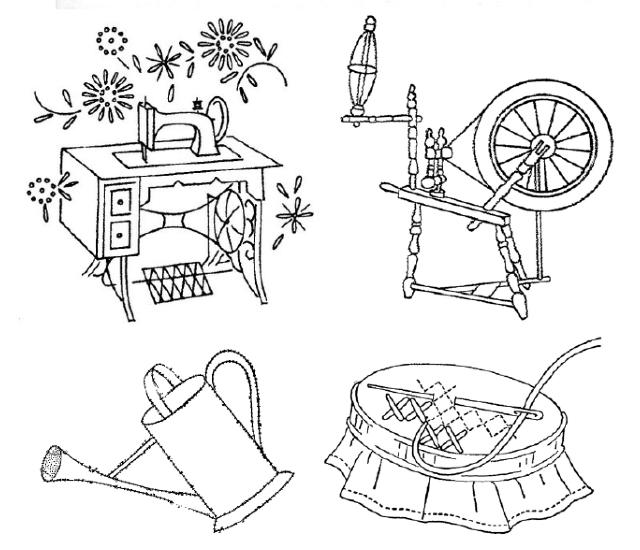 desenho para bordado ferramentas