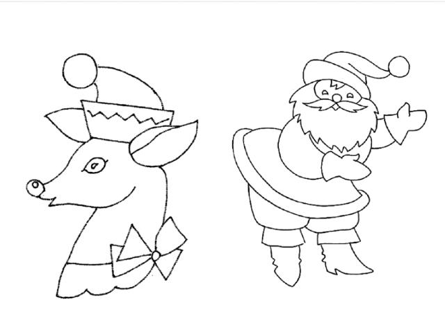 desenhos para bordado natal