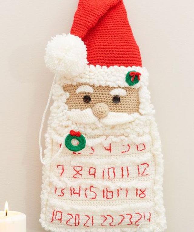 Papai Noel de crochê