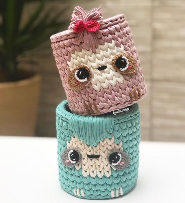 pontos de crochê fio de malha decoração