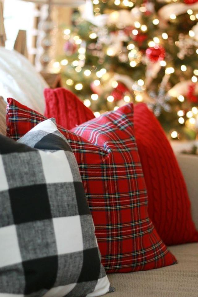Decoração de Natal para sala