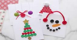 Ornamentação de Natal com Botões: 8 Enfeites Criativos e Fáceis de Fazer