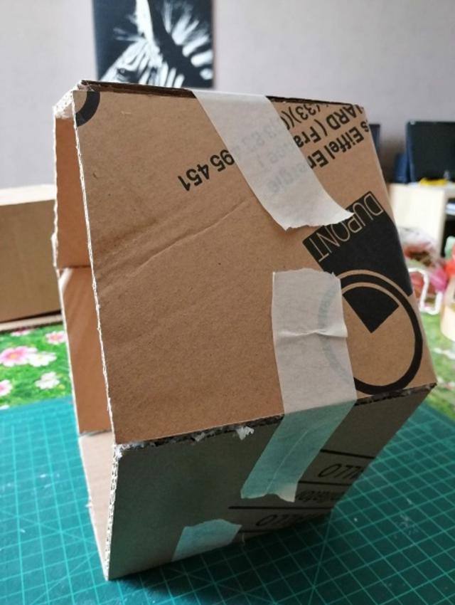 Nichos de papelão para decoração
