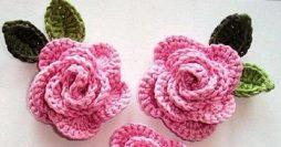 Rosas de Crochê: Passo a Passo, Gráficos e Modelos para se Inspirar