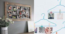 Faça você mesmo: Como Fazer Lindos Murais de Fotos e Porta-retratos para usar em decoração