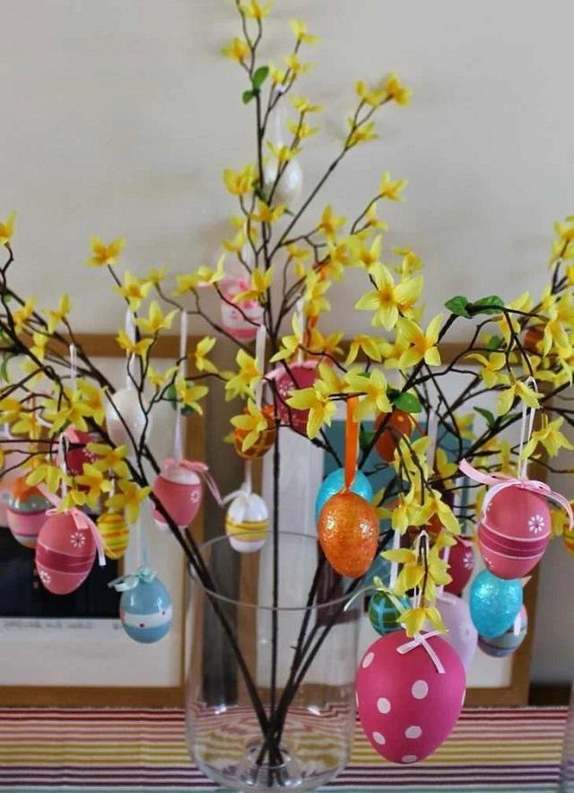 Decoração de Páscoa com Materiais Recicláveis