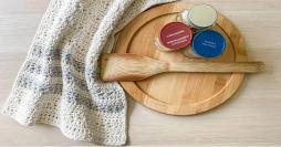 Costura à Mão: Toalha de Cozinha de Crochê Texturizada