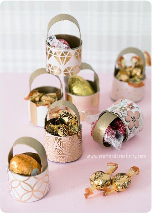 Ideias de Lembrancinhas de Páscoa com Embalagens Vazias