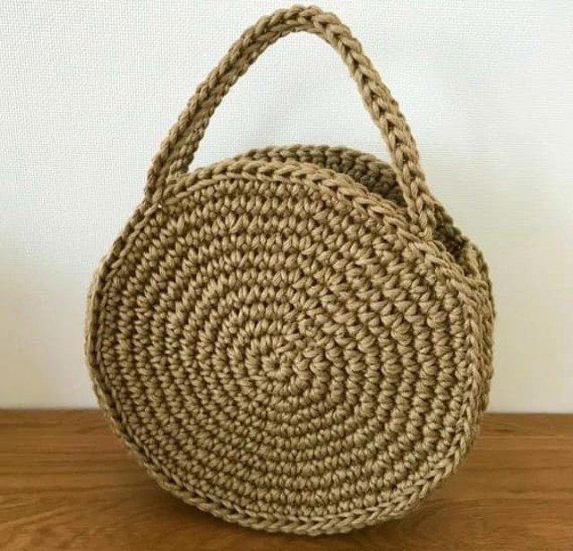 Aprenda a Fazer uma Bolsa de Crochê Redonda Maravilhosa para o Verão