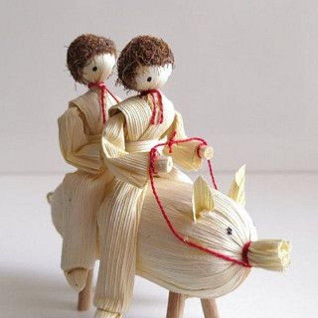 Artesanato com Palha de Milho: Como Fazer uma Boneca Linda para a Decoração