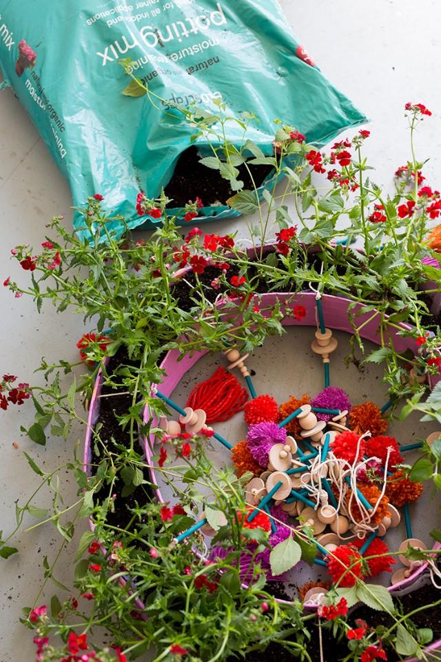 Artesanato em Casa: Jardim Flutuante Passo a passo Incrível