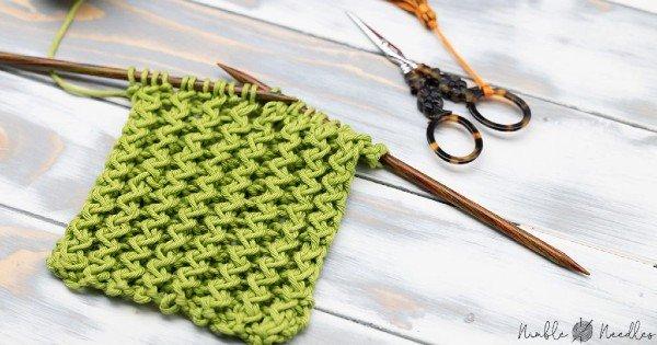 Tricô Passo a passo: Como Tricotar o Ponto Ziguezague