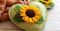 Artesanato Lucrativo:  Lembrancinhas em Feltro e Crochê para o Dia das Mães