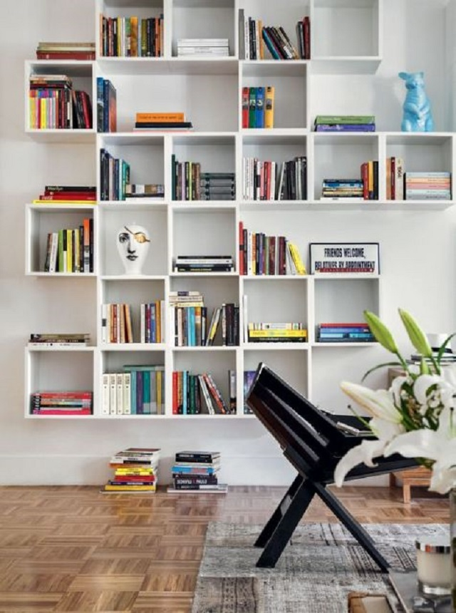 Artesanato para casa: Como Fazer uma Estante de MDF para Livros Bonita e Prática