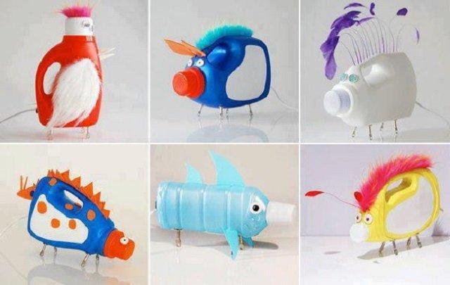 Ideias Criativas com Garrafa de Amaciante