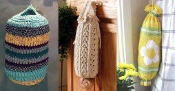 Puxa Saco de Crochê: 72 Modelos Lindos para Decorar sua Casa