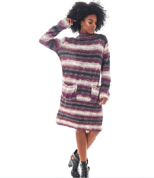 Tricô para Iniciantes: Vestido para o Inverno com Passo a Passo e Receita