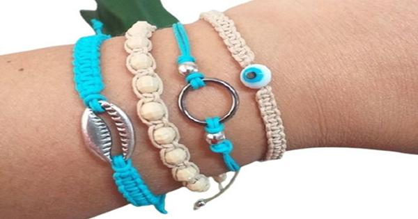 Macramê passo a passo: 25 ideias de pulseiras estilosas fáceis de fazer